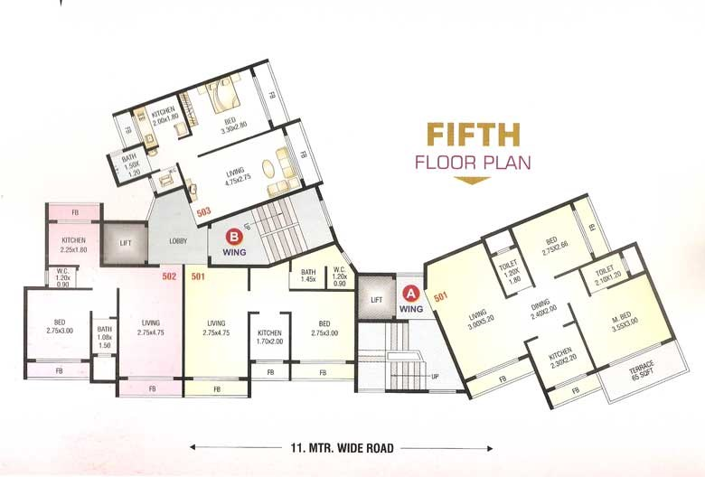 Shree Sai Floor Plan 2