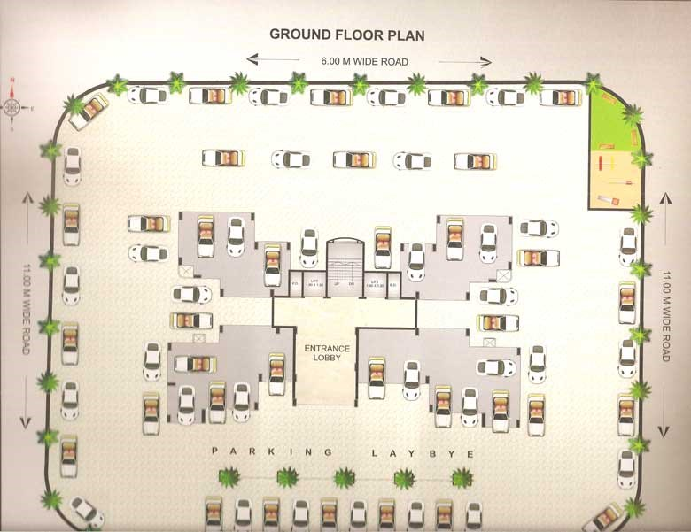 Ma Laxmi Heights Floor Plan 3