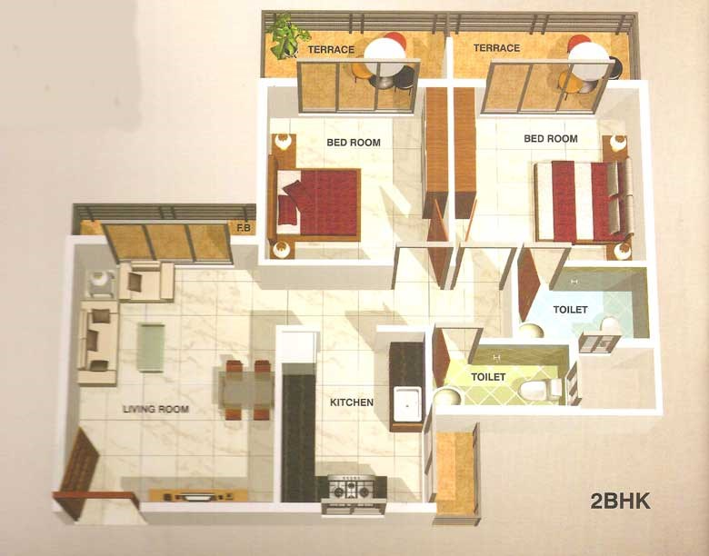 Ma Laxmi Heights Floor Plan 5