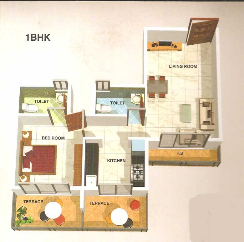 Ma Laxmi Heights Floor Plan 6