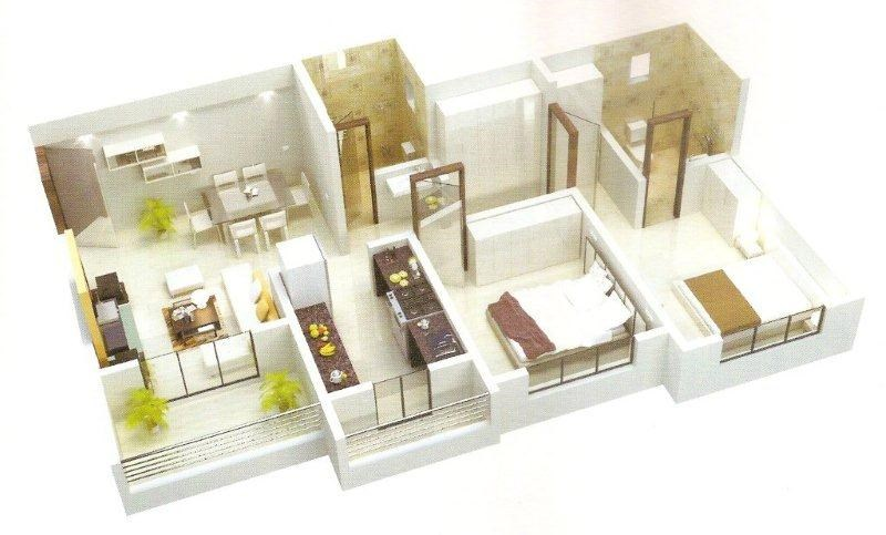 Bhagirathi Estate Floor Plan
