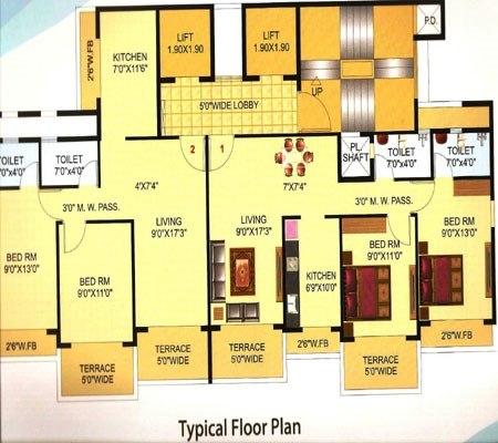 The Blue Crest Floor Plan 2