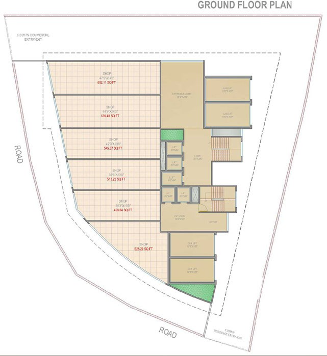 Shreenath Darshan Floor Plan 3