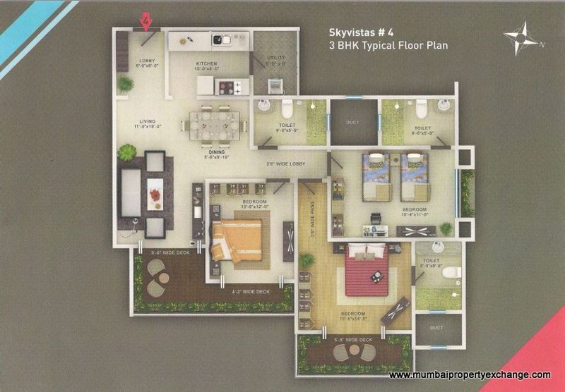 Sky Vistas Floor Plan 3