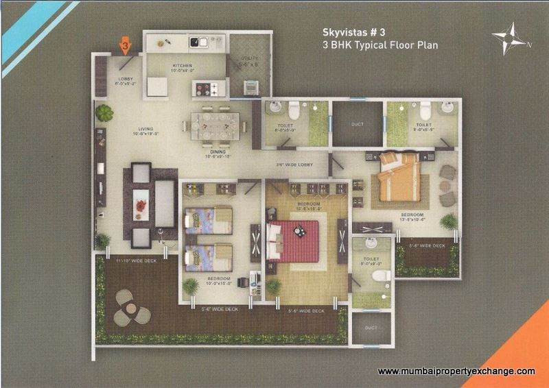 Sky Vistas Floor Plan 4