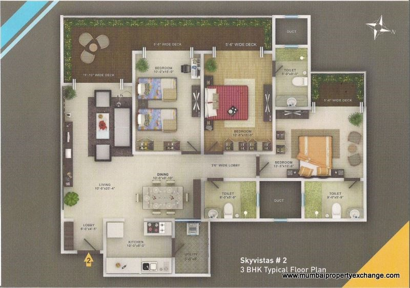 Sky Vistas Floor Plan 5