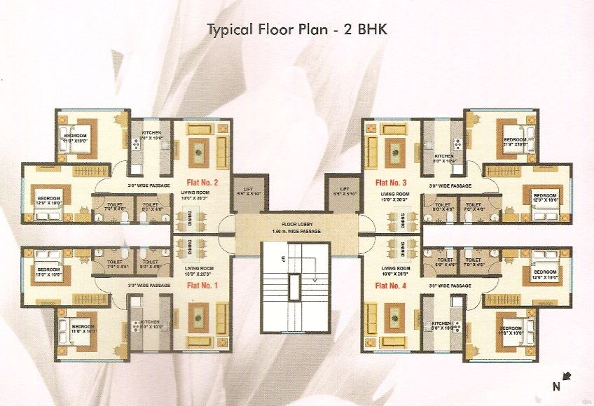 Kul Tulip Floor Plan
