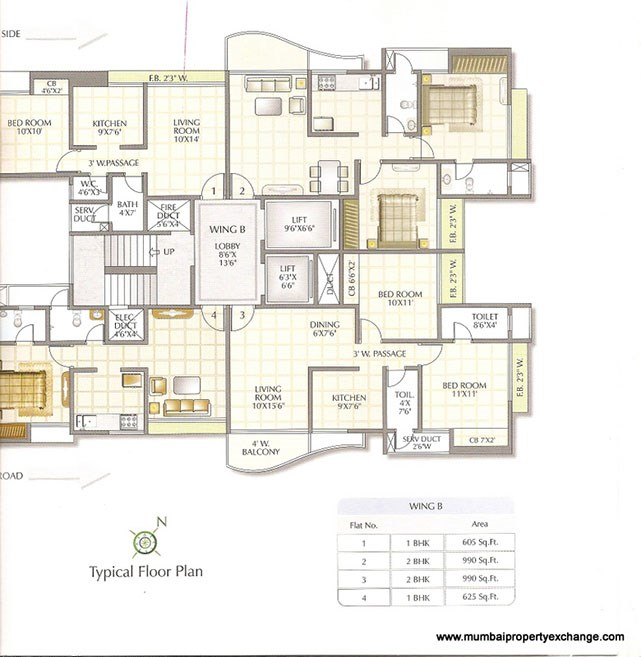 Atlantis Floor Plan II