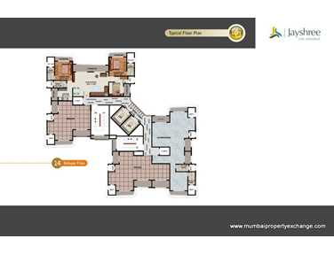 Flat on rent in Jayshree Arkade, Malad West
