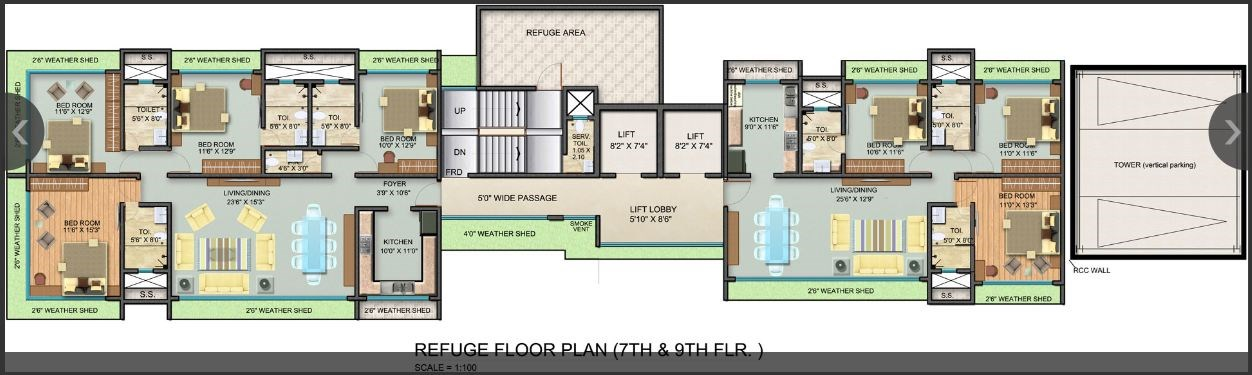 Mayfair Kumkum Floor Plan