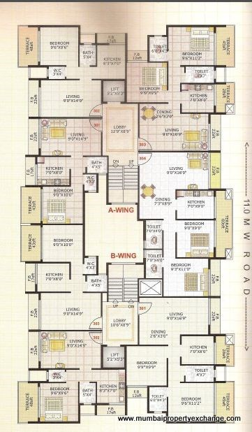 Adinath Homes Floor Plan IV