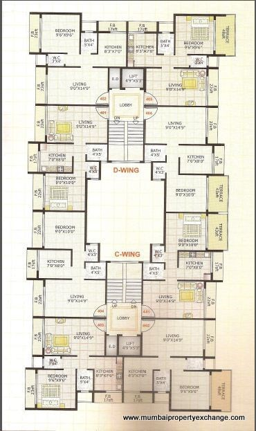 Adinath Homes Floor Plan IX
