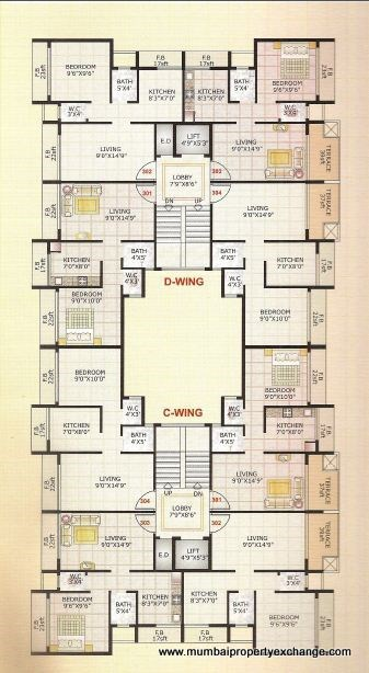 Adinath Homes Floor Plan V