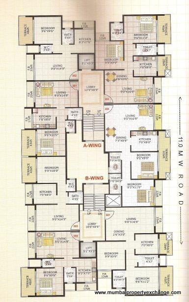 Adinath Homes Floor Plan VI