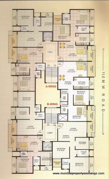 Adinath Homes Floor Plan VII
