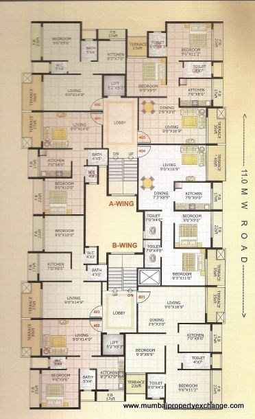 Adinath Homes Floor Plan VIII