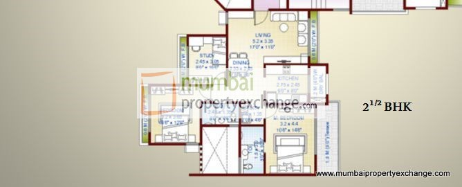 The Oasis Floor Plan 1