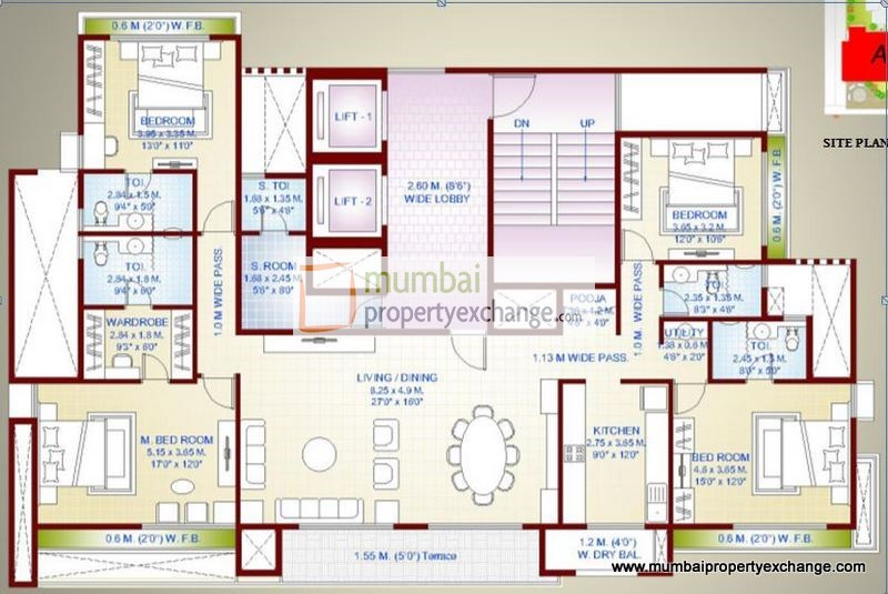 The Oasis Floor Plan 3
