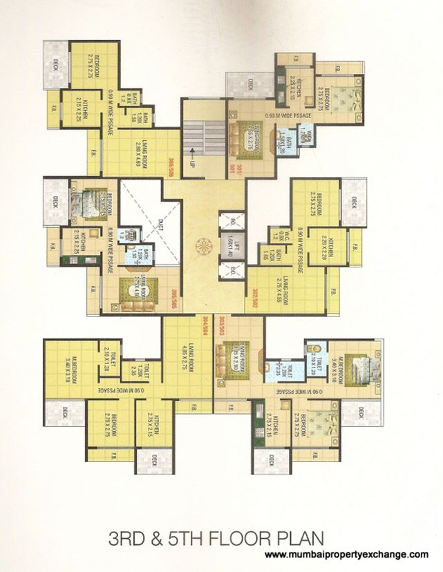 Mahakali Residency Floor Plan 4