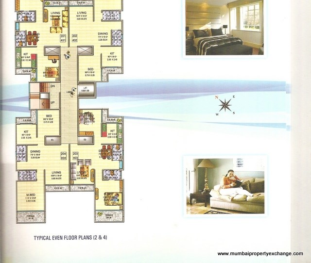Siddhiineel Harmony Floor Plan 1
