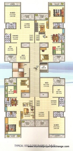 Siddhiineel Harmony Floor Plan 2