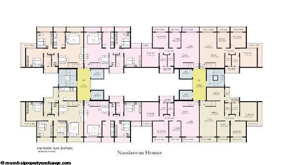 Nandanvan Homes Floor Plan
