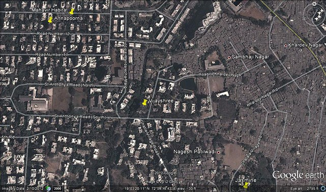 Vijayshree Google Earth