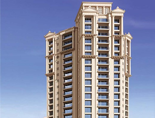Flat on rent in Rodas Enclave Rosemount, Thane West