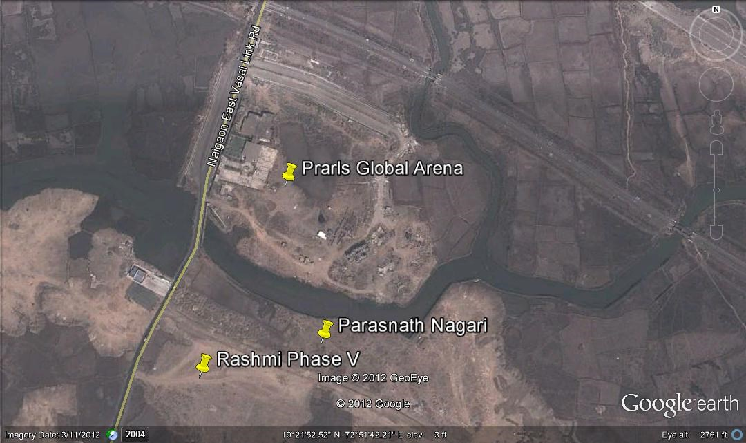 Pearls Global Arena Google Earth