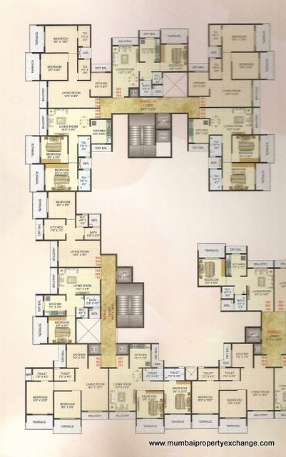 Moreshwar Complex Floor Plan 1