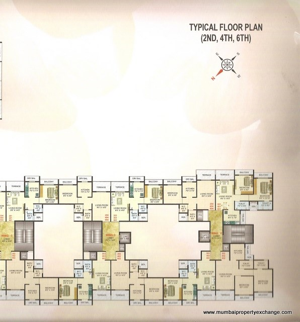 Moreshwar Complex Floor Plan 4