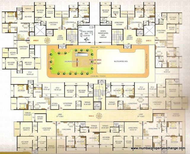 Today Empire Floor Plan IV