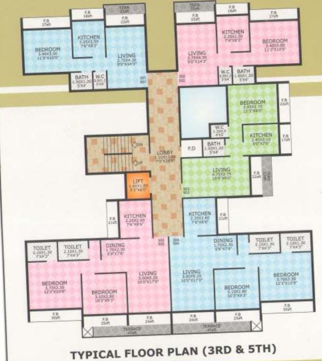 Ram Dev Homes Floor Plan