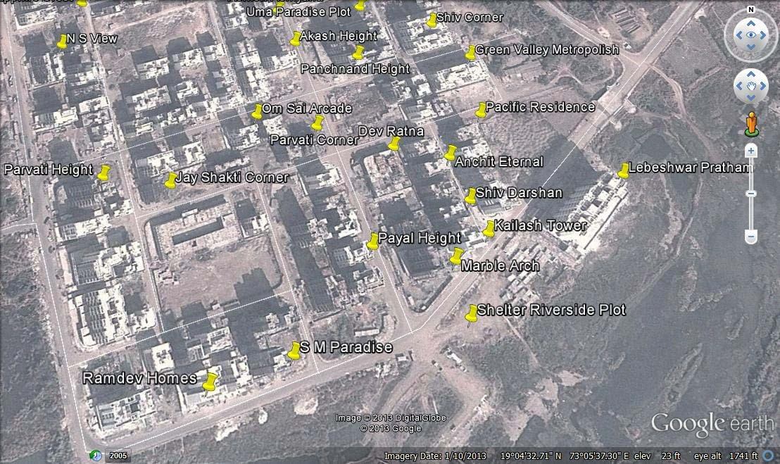 Ram Dev Homes Google Earth