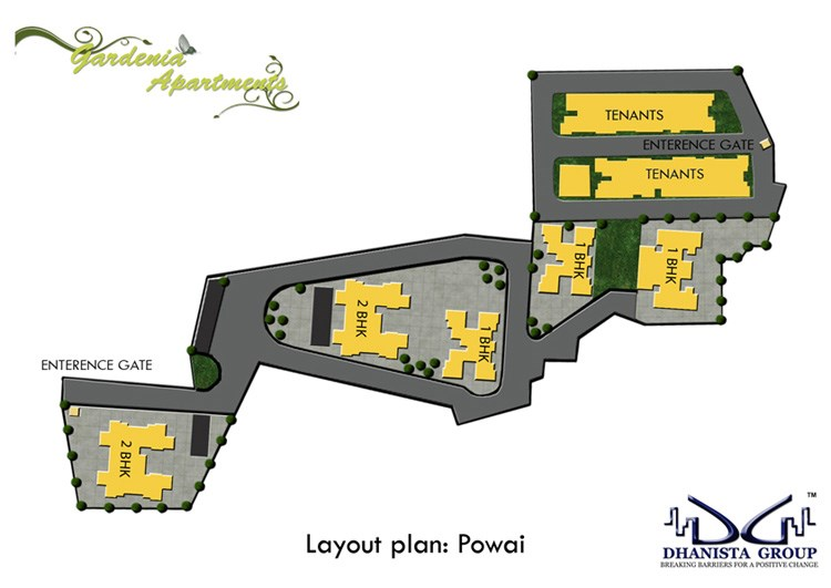 Gardenia Apartments Layout