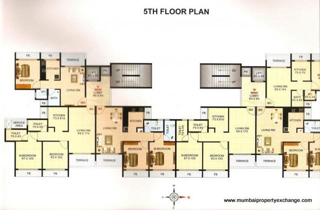 Ronak Residency Floor Plan