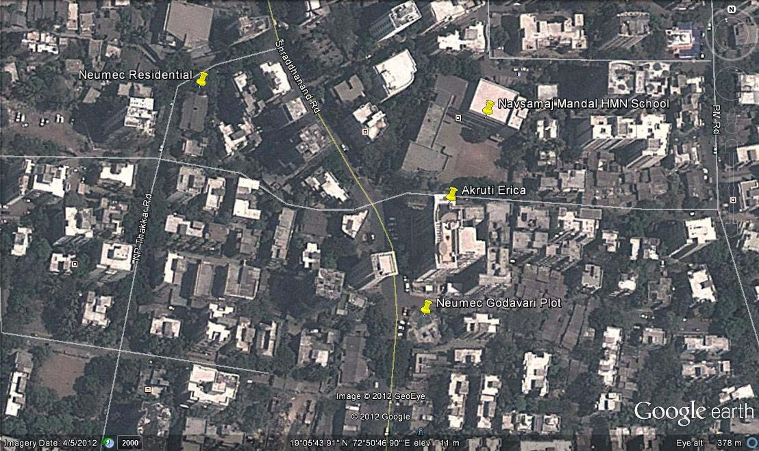 Neumec Godavari Google Earth