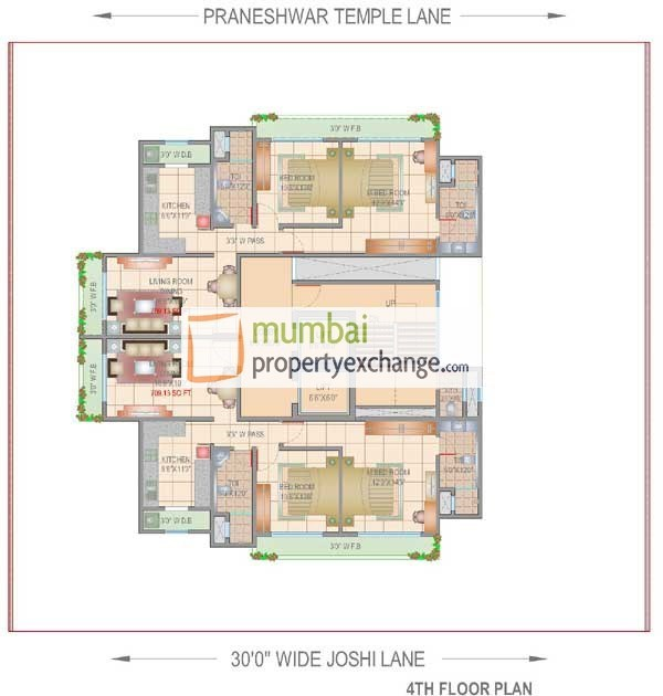 Shreenath Krupa Floor Plan