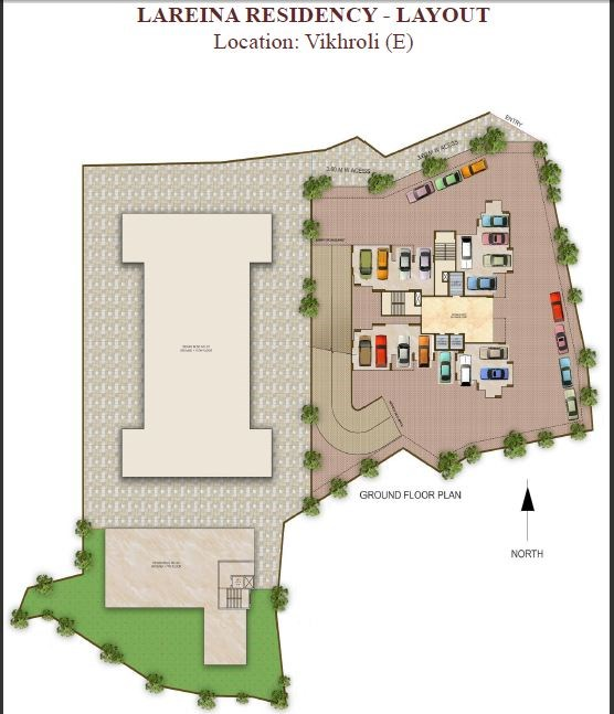 Lareina Residency Layout