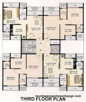 Shree Krishna Enclave Floor Plan