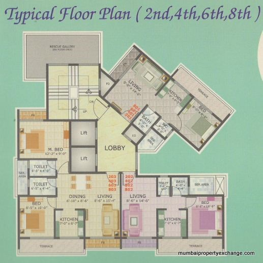Pruthvi Heights Floor Plan