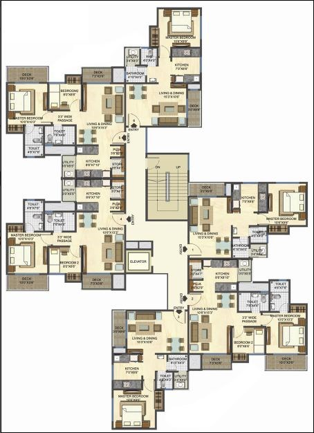 Casa Rio Gold Floor Plan