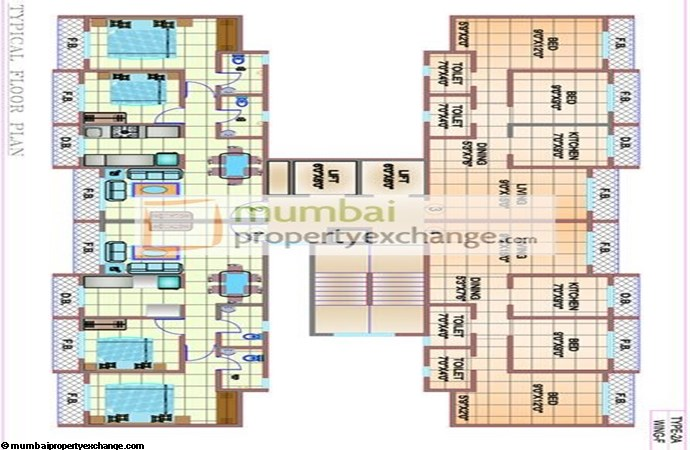 Shree Shakun Greens Floor Plan
