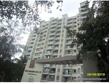Flat for sale in New Gagangiri, Borivali West