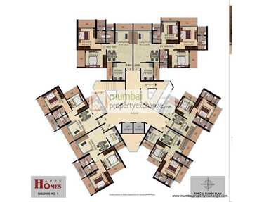 Flat on rent in Happy Homes, Borivali West