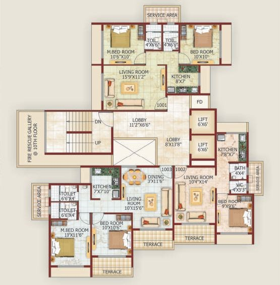 Green Valley Feathers Floor Plan