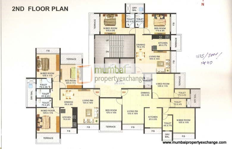 Giriraj Krishna Tower Floor Plan