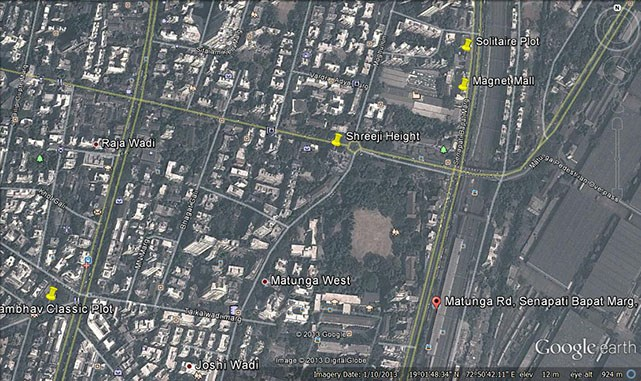 Sheerji Heights Google Earth