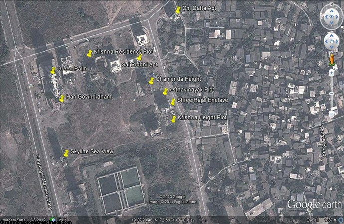 Om Datta Apartment Google Earth