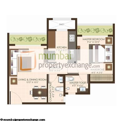 JP North I 1BHK Wing A